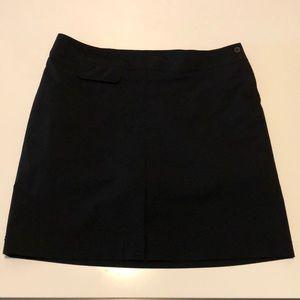 NWOT Tilley Black Skort size 16